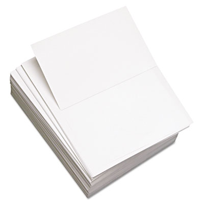 Custom Cut-Sheet Copy Paper, 92 Brightness, 20lb, 8-1/2x11, Whit
