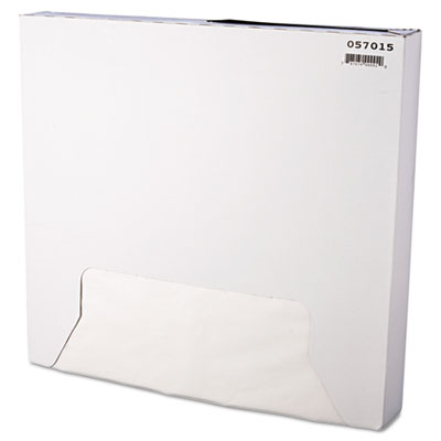 Grease-Resistant Paper Wrap/Liner, 15 x 16, White, 1000/Box, 3 B
