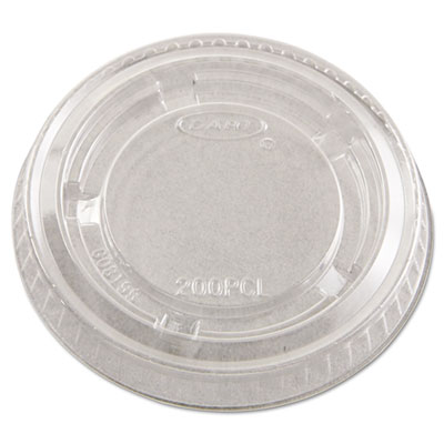 Complements Portion/Medicine Cup Lids, Plastic, Clear, 2500/Cart