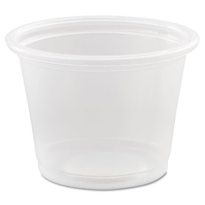 Conex Complements Portion/Medicine Cups, 1oz, Clear, 125/Bag, 20