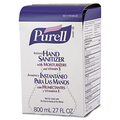 Instant Hand Sanitizer 800mL Refill, 12/Carton
