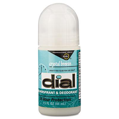 Anti-Perspirant Deodorant, Crystal Breeze, 1.5oz, Roll-On, 48/Ca
