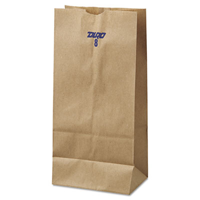 BAG,PAPER GROCERY,8#,BN