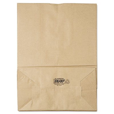 1/6 75# Paper Bag, 75lb Kraft, Brown, 12 x 7 x 17, 400/Bundle