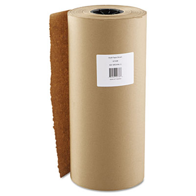 "Kraft Paper, 18"" x 900ft, Brown"