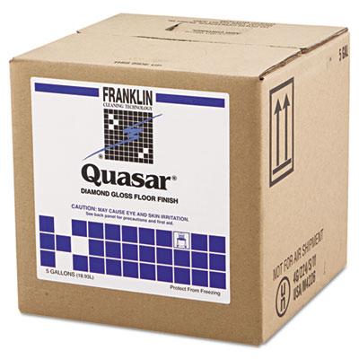 Quasar High Solids Floor Finish, 5gal Box
