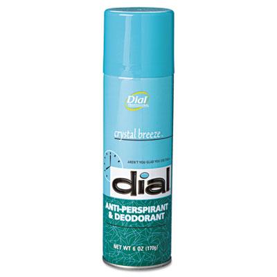 Scented Anti-Perspirant & Deodorant, Crystal Breeze, 6oz Aerosol