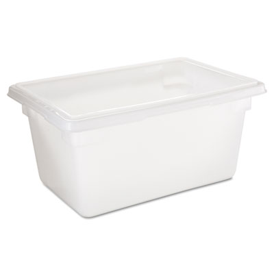 Food/Tote Boxes, 5gal, 18w x 12d x 9h, White