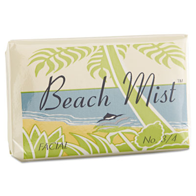Face and Body Soap, Foil Wrapped, Beach Mist Fragrance, .75oz Ba