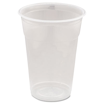 Wrapped Plastic Cups, 9oz, White, 1000/Carton
