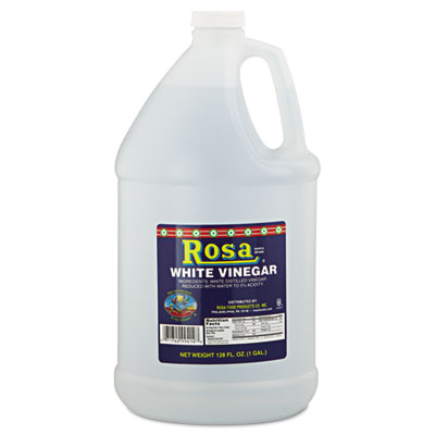 White Vinegar, 5%, 128oz, 4/Carton