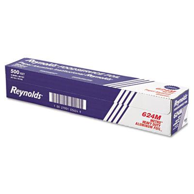 "Metro Aluminum Foil Roll, Lighter Gauge Standard, 18"" x 500ft, S"