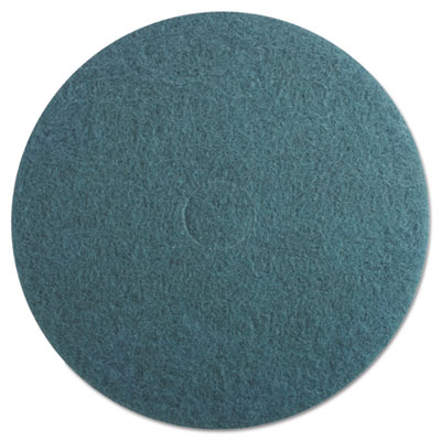"Ultra High-Speed Floor Pads, 20"" dia, Aqua, 5/Carton"