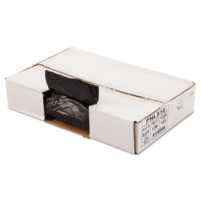 Linear Low Density Can Liners, 24 x 32, Black, 150/Carton