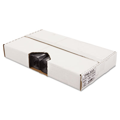 Linear Low Density Can Liners, 38 x 58, Black, 100/Carton