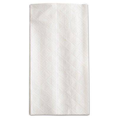 SCOTT Tall-Fold Dispenser Napkins, 1-Ply, 7w x 13 1/2d, White, 8