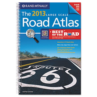2014 United States Road Atlas, Large Type, Soft Cover