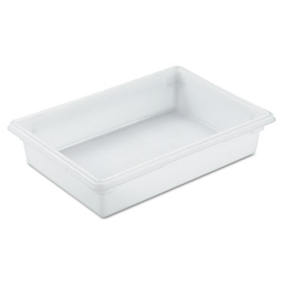 Food/Tote Boxes, 8.5gal, 26w x 18d x 6h, White