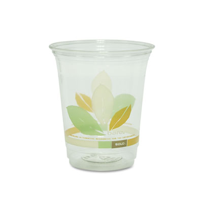 Bare Eco-Forward RPET Cold Cups, 12-14 oz, Clear, 50/Pack, 1000/
