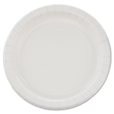 "Bare Eco-Forward Clay-Coated Paper Dinnerware, Plate, 8 1/2"" dia"