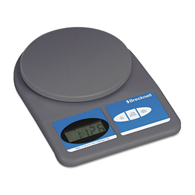 Electronic Weight-Only Utility Scale, 11lb Capacity, 5-3/4 Platf