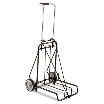 250lb Capacity Luggage Cart, 14 1/2 x 13 1/2 Platform, Steel