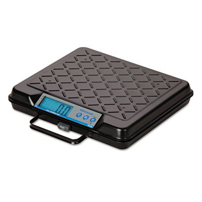 Portable Electronic Utility Bench Scale, 100lb Capacity, 12 x 10