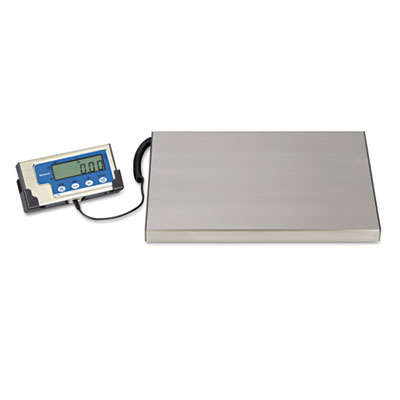 LPS400 Portable Shipping Scale, 400 lb Capacity, 12w x 15d Platf