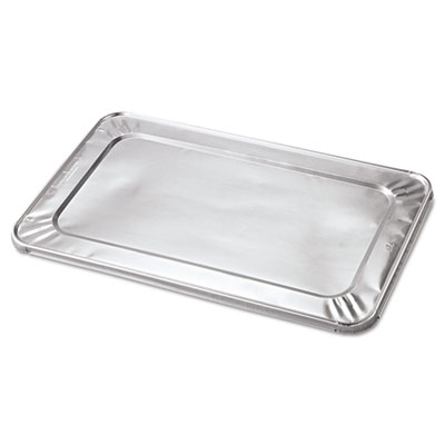 Steam Table Pan Foil Lid, Fits Full Size Pan, 20 13/16 x 12, 50/