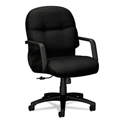 2090 Pillow-Soft Series Managerial Mid-Back Swivel/Tilt Chair, B