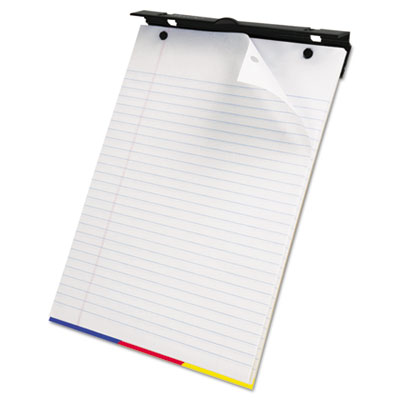 SimpleSort Crossover Writing Pad, 8-1/2 x 11, White, 80 Sheets