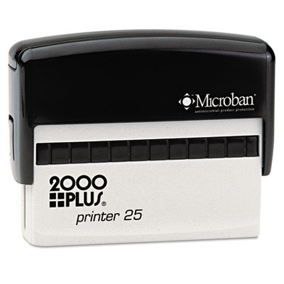 2000 PLUS Self-Inking Custom Message Stamp, 3 x 5/8