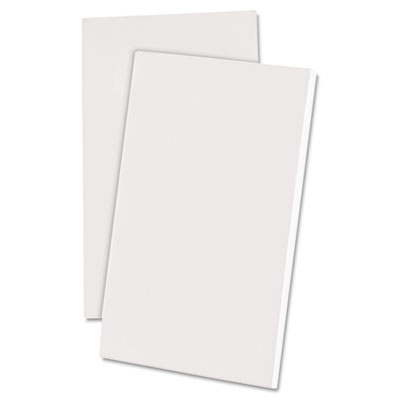 Scratch Pad Notebook, Unruled, 3 x 5, White, 100-Sheet, Dozen