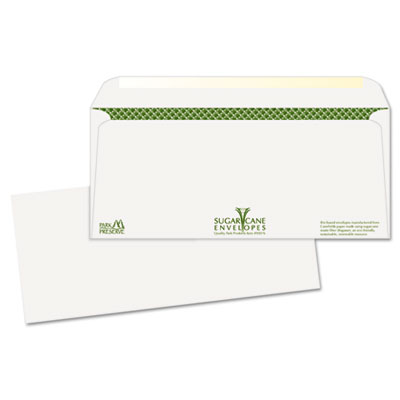 Bagasse Sugarcane Business Envelopes, #10, 500/Box