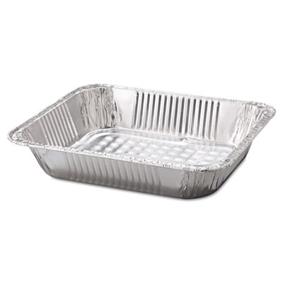 Steam Table Aluminum Pan, Half-Size, 12 3/4 x 10 3/8 x 2 3/5, 10