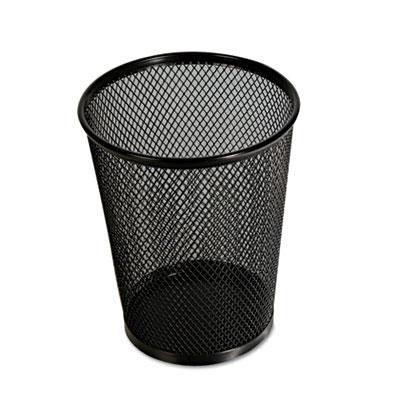 Jumbo Mesh Pencil Cup, Black