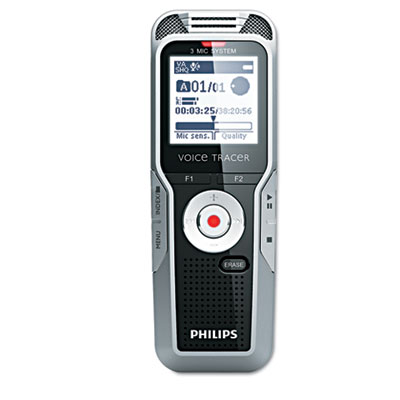 Digital Voice Tracer 5000 Recorder, 4GB, One Touch Record