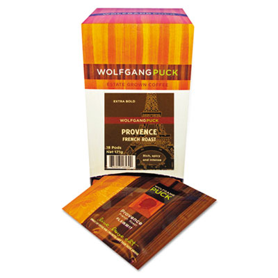 Coffee Pods, French Roast, 18/Box