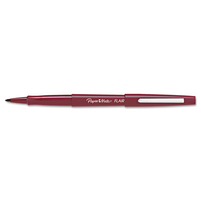 Flair Felt Tip Marker Pen, Cranberry Ink