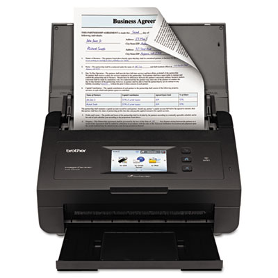 ImageCenter ADS-2500W Color Duplex Desktop Scanner, 600 x 600, 5