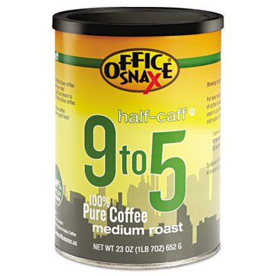 100% Pure Arabica Coffee, Half-Caf