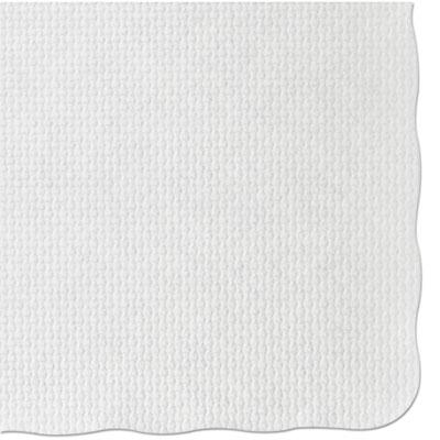 Placemats, 9 3/4 x 13 3/4, White, 1,000/Carton