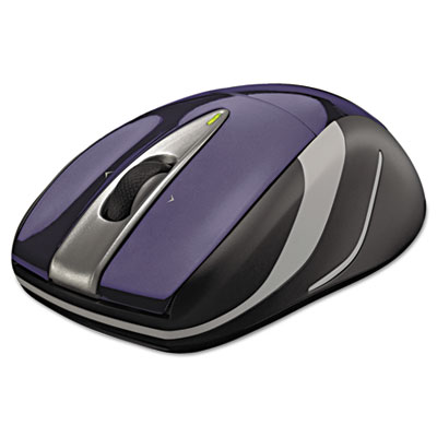 M525 Wireless Mouse, Compact, Right/Left, Blue