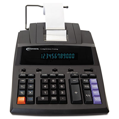 15990 Two-Color Printing Calculator, Black/Red Print, 4.5 Lines/