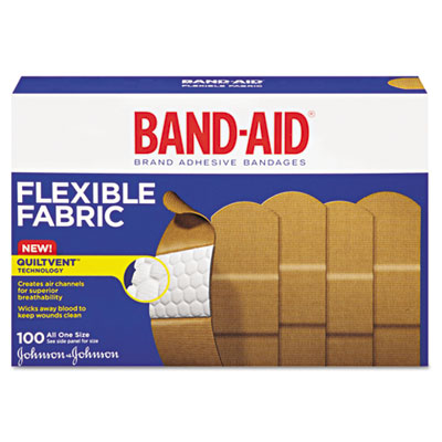 BANDAGES, 1X3, FABRIC100/BX