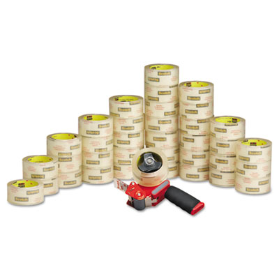 "3750 Commercial Grade Packaging Tape 1.88"" x 54.6yds, 3"" Core, C"