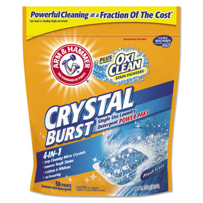 Crystal Burst Power Paks, 50/Pack