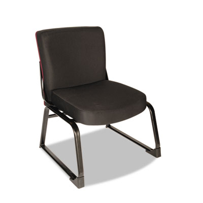 XL Series Big & Tall Mid-Back Guest Chair, Black