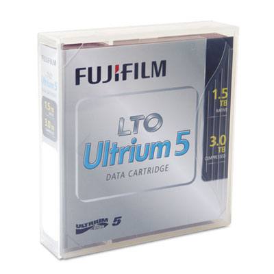 Ultrium LTO-5 Cartridge, 846m, 1.5TB Native/3.0TB Compressed Cap