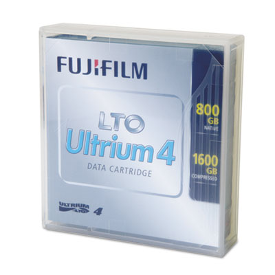 Ultrium LTO-4 Cartridge, 820m, 800GB Native/1.6TB Compressed Cap